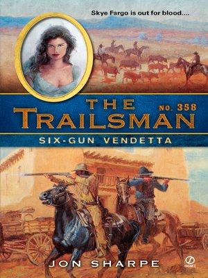 cover image of Six-Gun Vendetta
