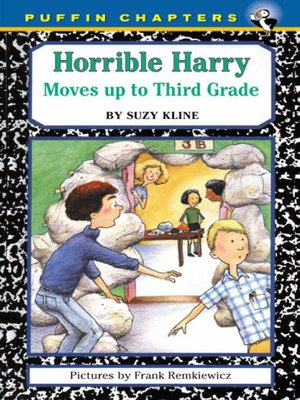 cover image of Horrible Harry Moves up to the Third Grade