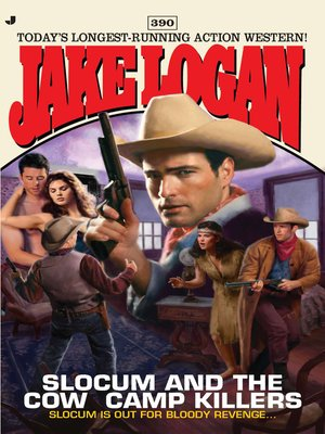 cover image of Slocum and the Cow Camp Killers