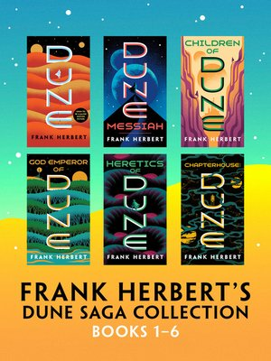 cover image of Frank Herbert's Dune Saga Collection--Books 1--6