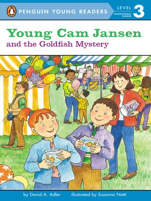 cover image of Young Cam Jansen and the Goldfish Mystery