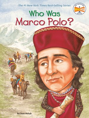cover image of Who Was Marco Polo?