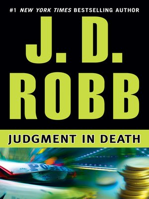 cover image of Judgment in Death