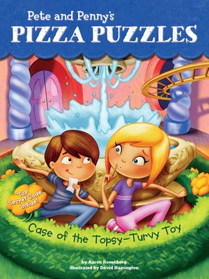 cover image of Case of the Topsy-Turvy Toy