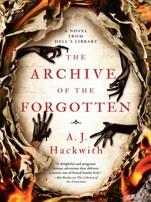 cover image of The Archive of the Forgotten