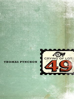 cover image of The Crying of Lot 49
