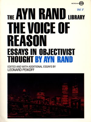 cover image of The Voice of Reason