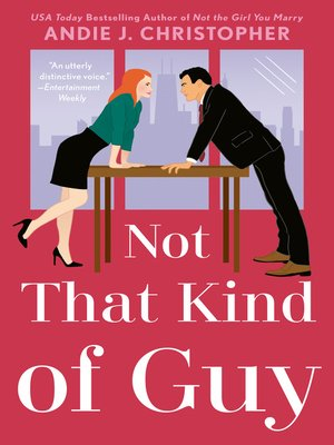Not that Kind of Guy Book Cover