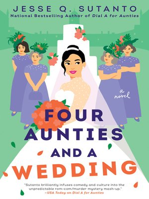 cover image of Four Aunties and a Wedding