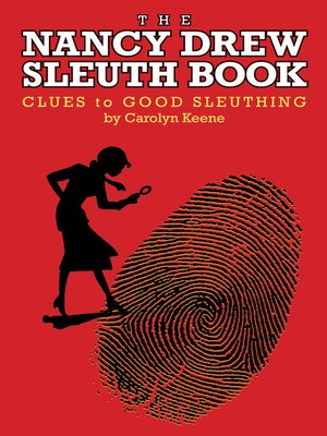 cover image of The Nancy Drew Sleuth Book