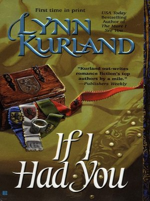 cover image of If I Had You
