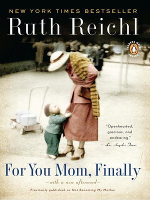 cover image of For You Mom, Finally