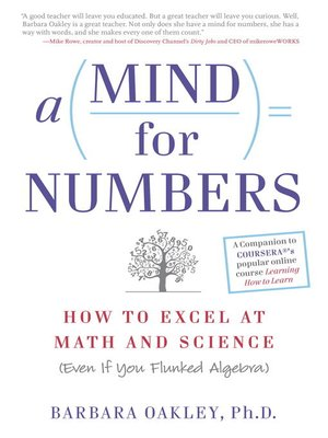 cover image of A Mind For Numbers