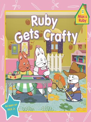 cover image of Ruby Gets Crafty