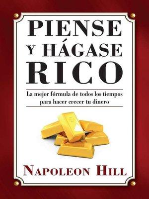 cover image of Piense y Hagase Rico