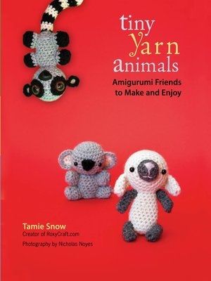 cover image of Tiny Yarn Animals