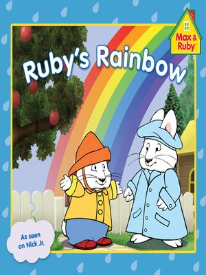 cover image of Ruby's Rainbow
