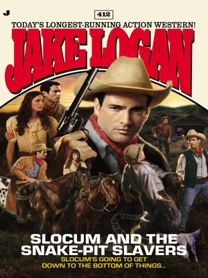 cover image of Slocum and the Snake-Pit Slavers