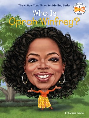 cover image of Who Is Oprah Winfrey?