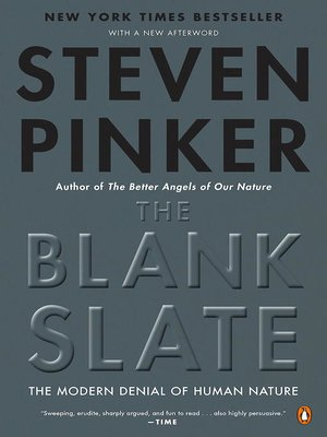 cover image of The Blank Slate