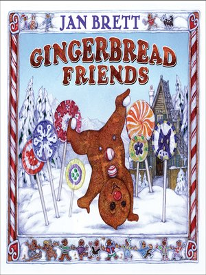 cover image of Gingerbread Friends