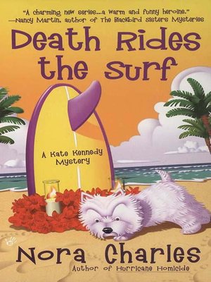 cover image of Death Rides the Surf