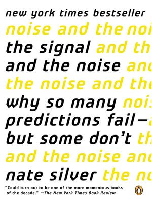 cover image of The Signal and the Noise