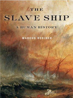 the slave ship a human history audiobook