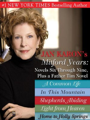 cover image of Mitford Years, Novels Six Through Nine