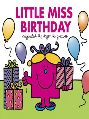 cover image of Little Miss Birthday