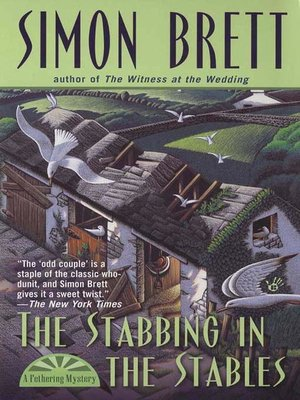 cover image of The Stabbing in the Stables