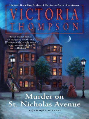 cover image of Murder on St. Nicholas Avenue