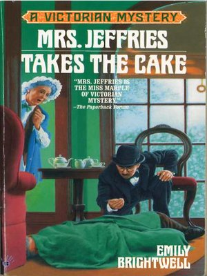 cover image of Mrs. Jeffries Takes the Cake
