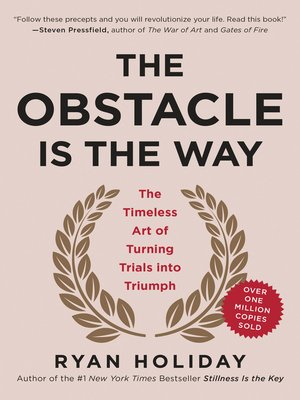 cover image of The Obstacle Is the Way
