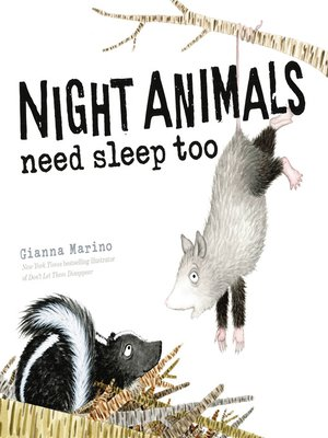 cover image of Night Animals Need Sleep Too