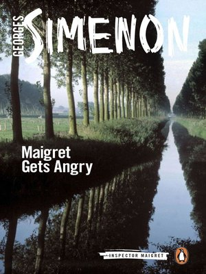 cover image of Maigret Gets Angry