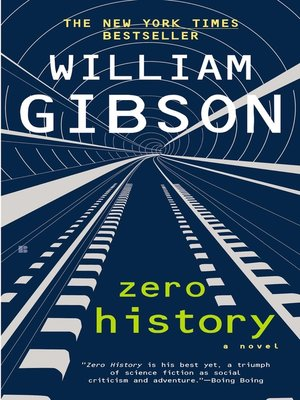 cover image of Zero History