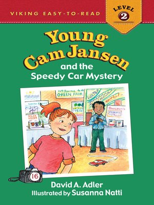 cover image of Young Cam Jansen and the Speedy Car Mystery