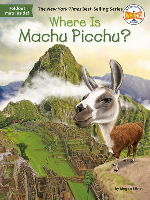 cover image of Where Is Machu Picchu?