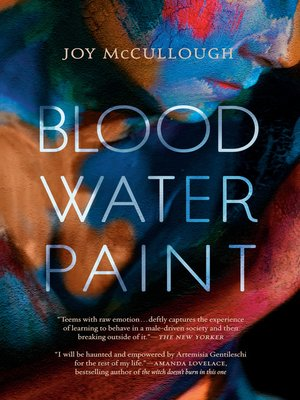cover image of Blood Water Paint