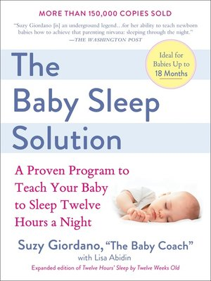 cover image of The Baby Sleep Solution