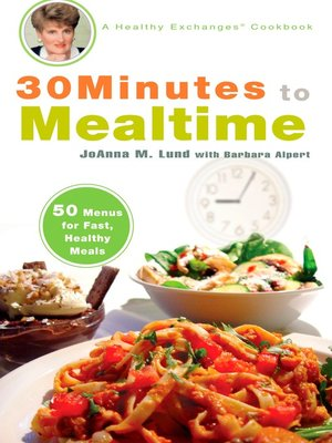 cover image of 30 Minutes to Mealtime