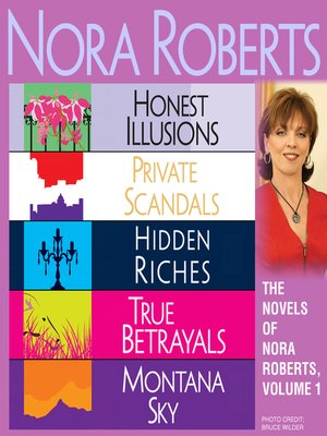 cover image of The Novels of Nora Roberts, Volume 1