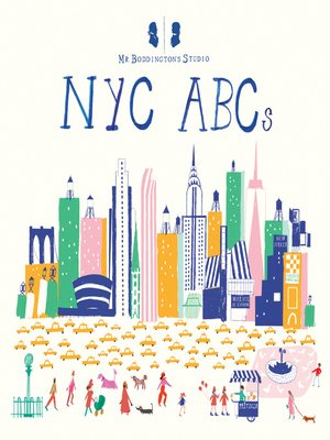 cover image of Mr. Boddington's Studio--NYC ABCs