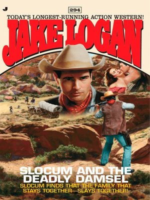 cover image of Slocum and the Deadly Damsel