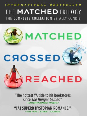 cover image of The Matched Trilogy