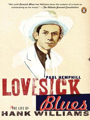 cover image of Lovesick Blues