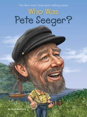 cover image of Who Was Pete Seeger?