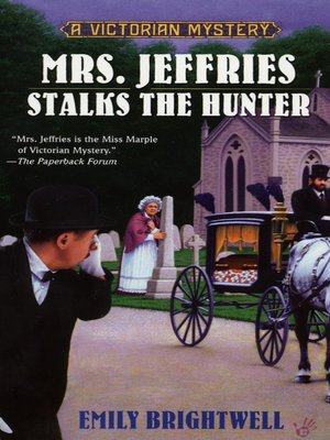 cover image of Mrs. Jeffries Stalks the Hunter