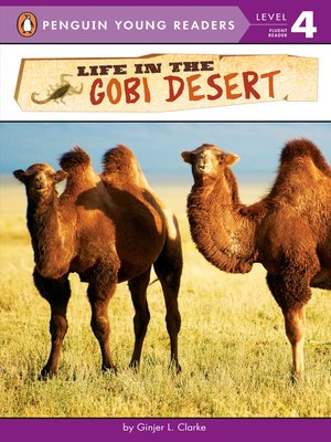 cover image of Life in the Gobi Desert